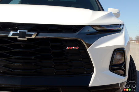 2020 Chevrolet Blazer RS, grille, badging