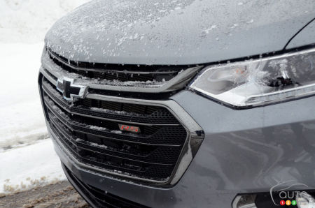 2020 Chevrolet Traverse RS, grille