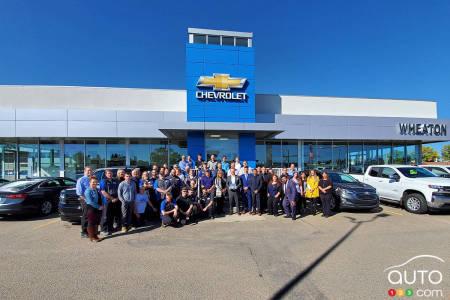 Chevrolet dealer in Red Deer, Alberta