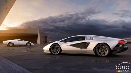 Lamborghini Countach LPI 800-4, Perfil