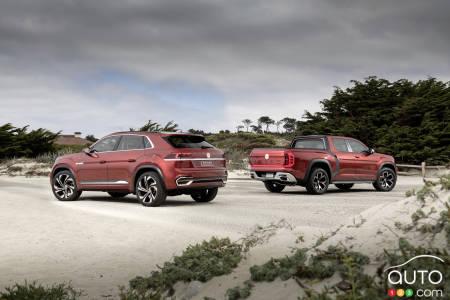 Volkswagen Atlas Tanoak et Atlas Cross Sport