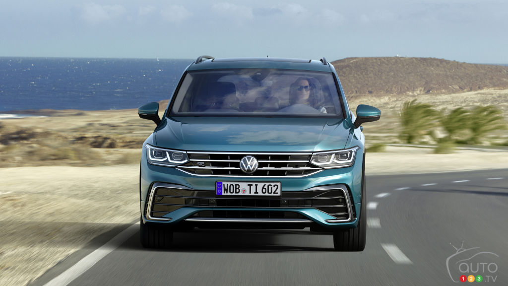 Volkswagen Tiguan 2022, avant