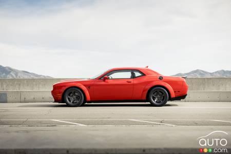 2021 Dodge Challenger SRT Super Stock, profile
