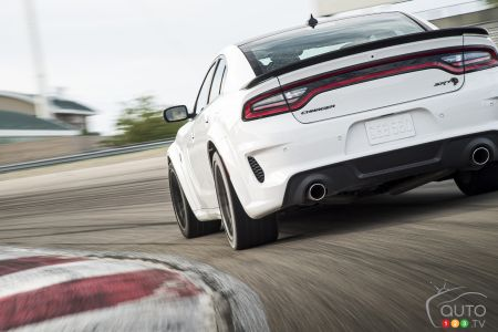 2021 Dodge Charger SRT Hellcat Redeye, rear