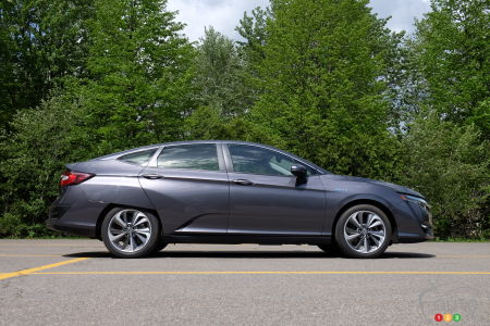 2021 Honda Clarity, profile
