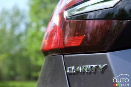 2021 Honda Clarity, badging