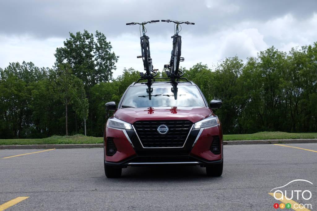 Nissan Kicks 2021, avant