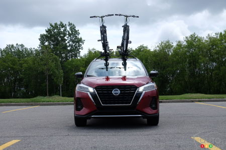 2021 Nissan Kicks, front