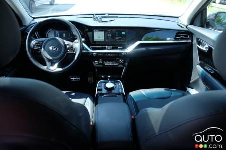 Kia Niro EV, interior