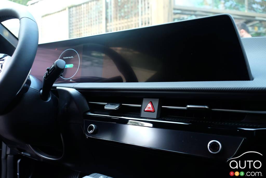 Kia EV6, écran multimédia