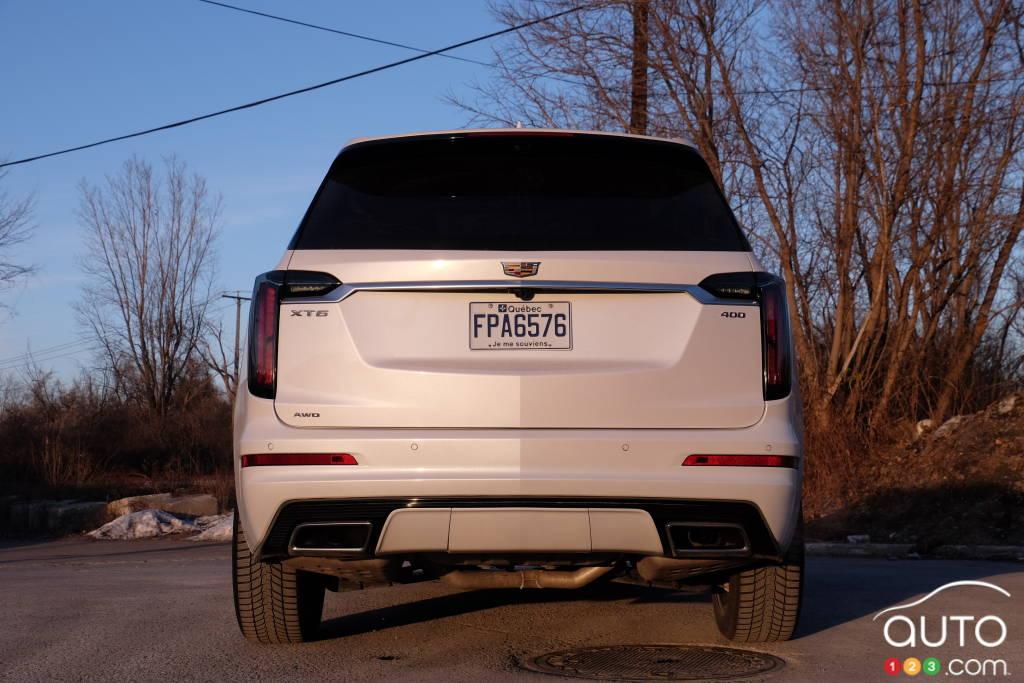 Cadillac XT6 2020, arrière
