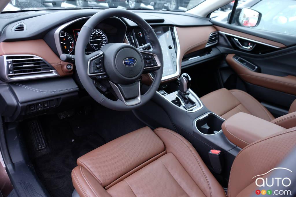 Subaru Outback 2020, intérieur