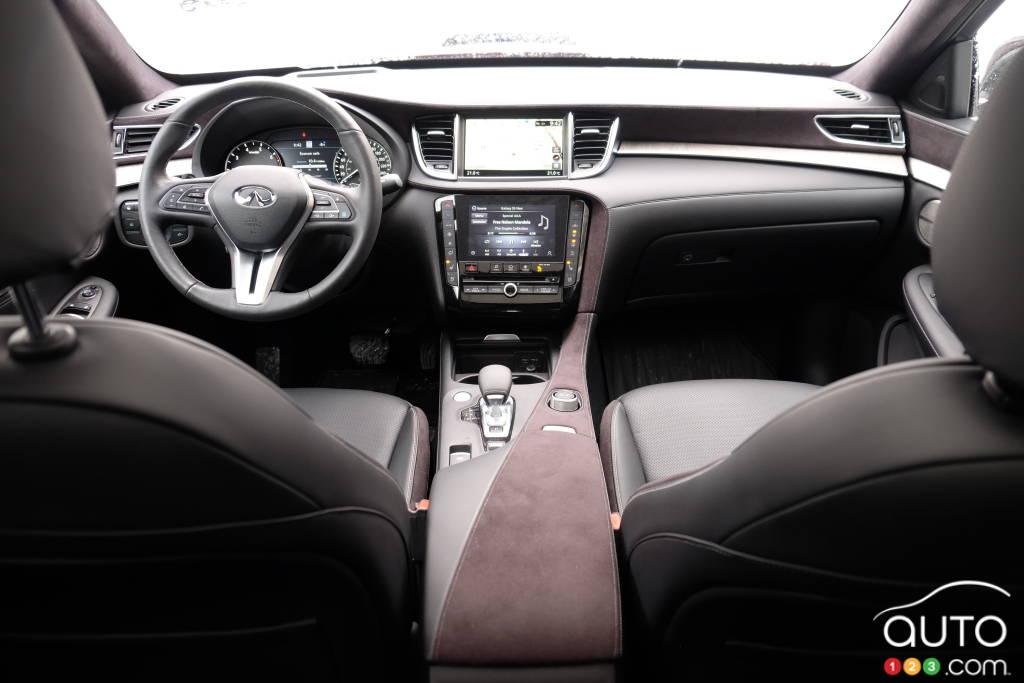 Infiniti QX50 2020, intérieur