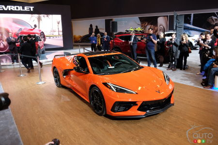 2020 Chevrolet Corvette, at the 2020 Montreal Auto Show