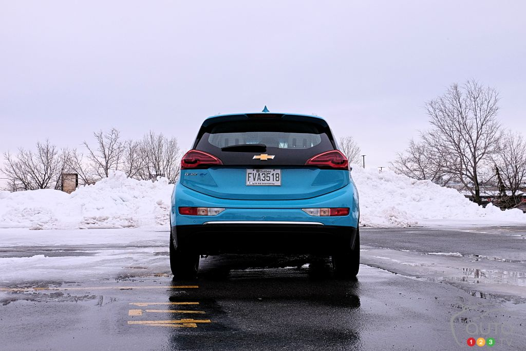 Chevrolet Bolt 2020, arrière
