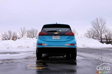 2020 Chevrolet Bolt, rear