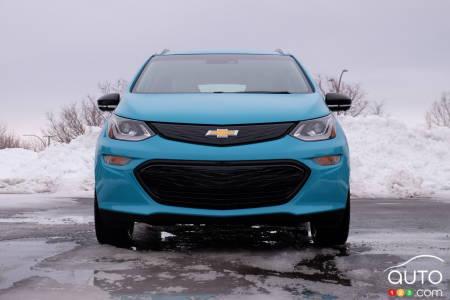 2020 Chevrolet Bolt, front