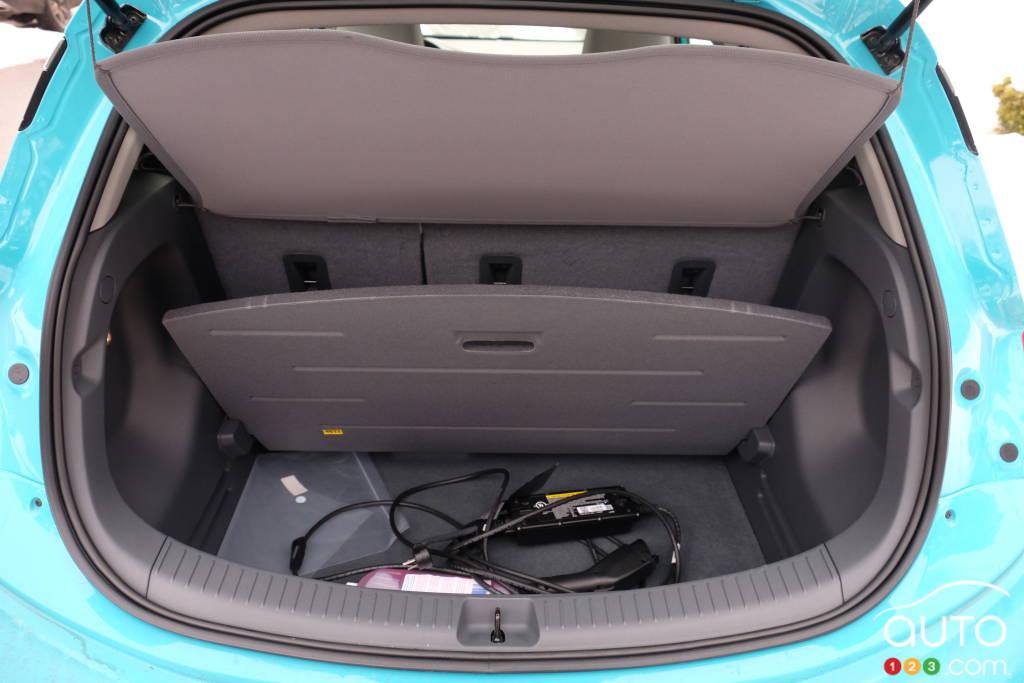 Chevrolet Bolt 2020, coffre