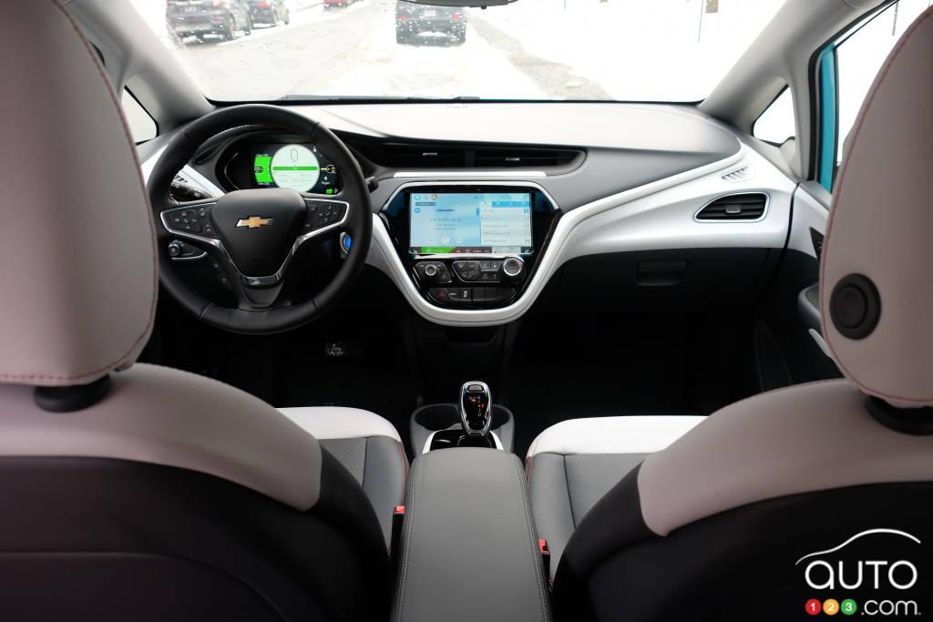 Chevrolet Bolt 2020, intérieur