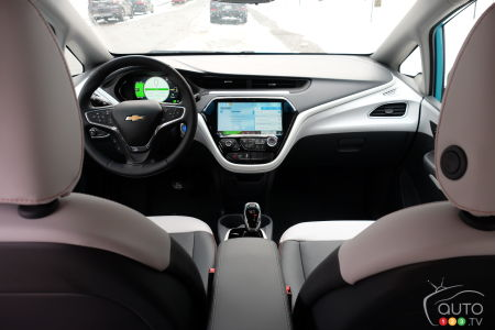 2020 Chevrolet Bolt, interior
