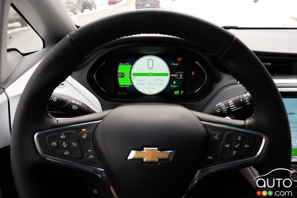 Chevrolet Bolt 2020, volant