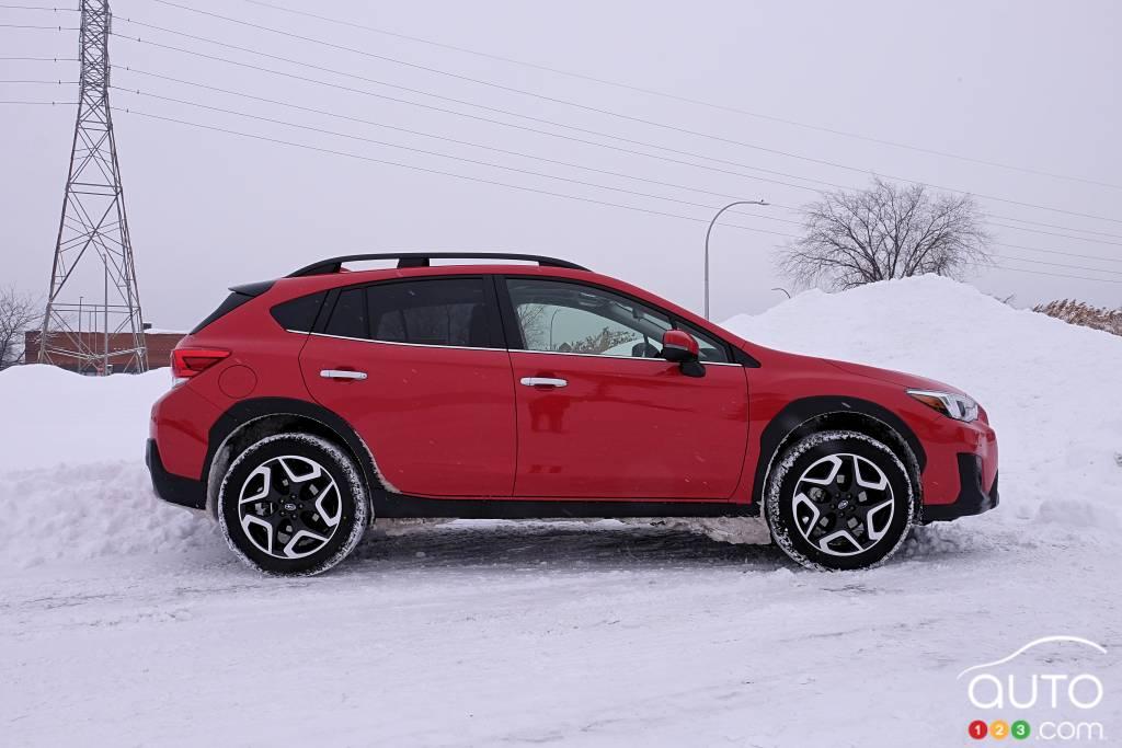 Subaru Crosstrek 2020, profil