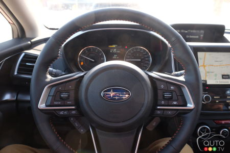 2020 Subaru Crosstrek, interior