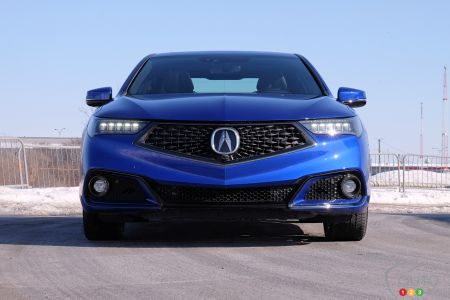 2020 Acura TLX, front