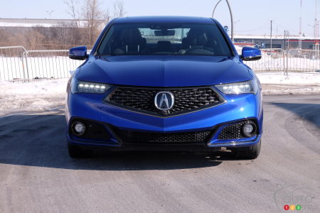 2020 Acura TLX, front grille