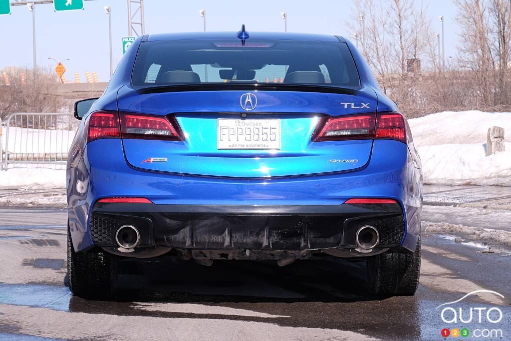 Acura TLX 2020, arrière