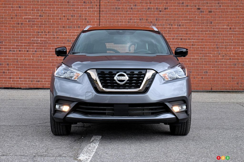 Nissan Kicks 2020, avant