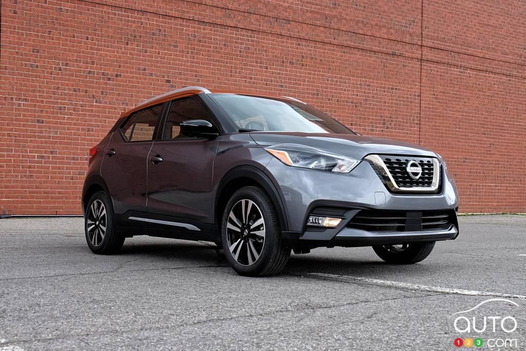 Nissan Kicks 2020, trois quarts avant