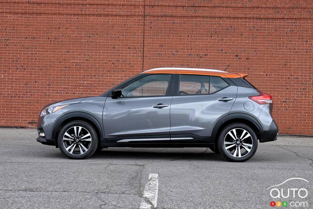 Nissan Kicks 2020, profil