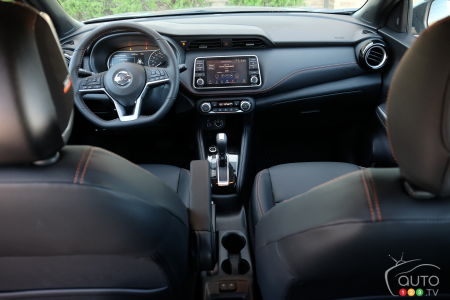 Nissan Kicks, interior