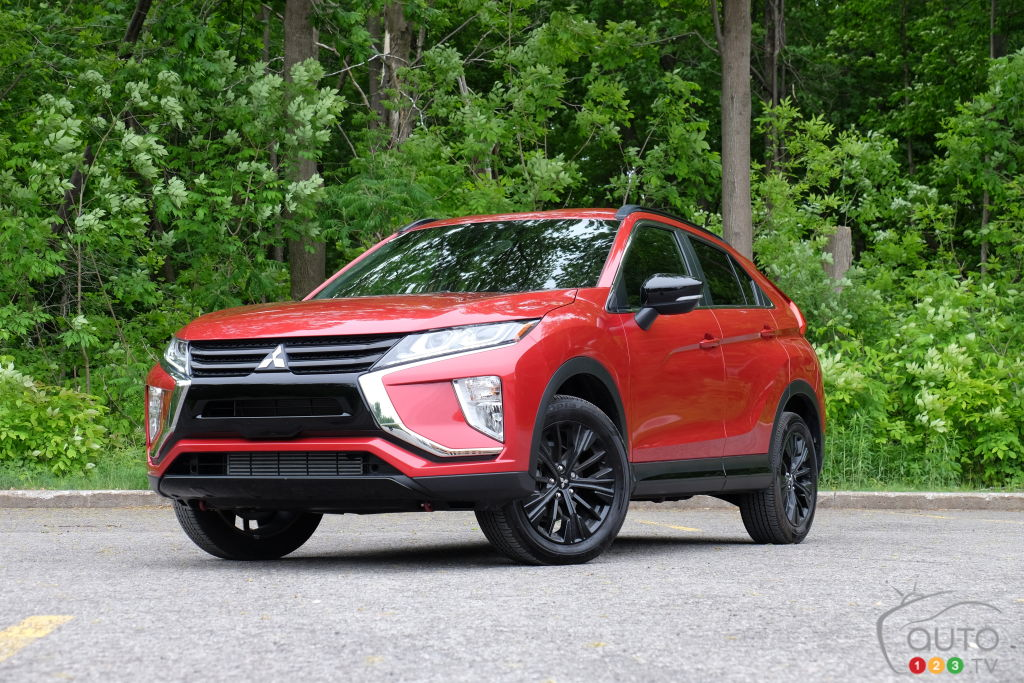 Mitsubishi Eclipse Cross 2020, trois quarts avant