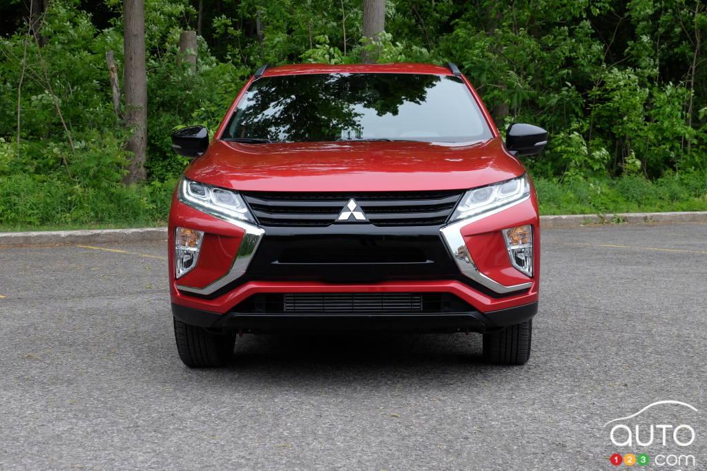 Mitsubishi Eclipse Cross 2020, avant