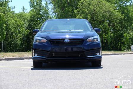 Subaru Impreza, front