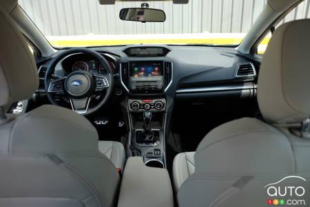 Subaru Impreza, interior