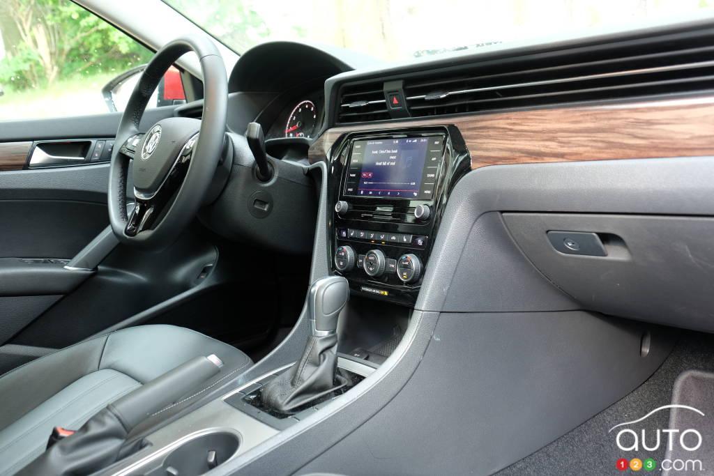Volkswagen Passat 2020, tableau de bord