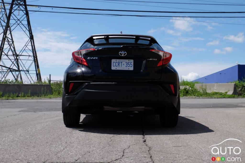 Toyota C-HR 2020, arrière