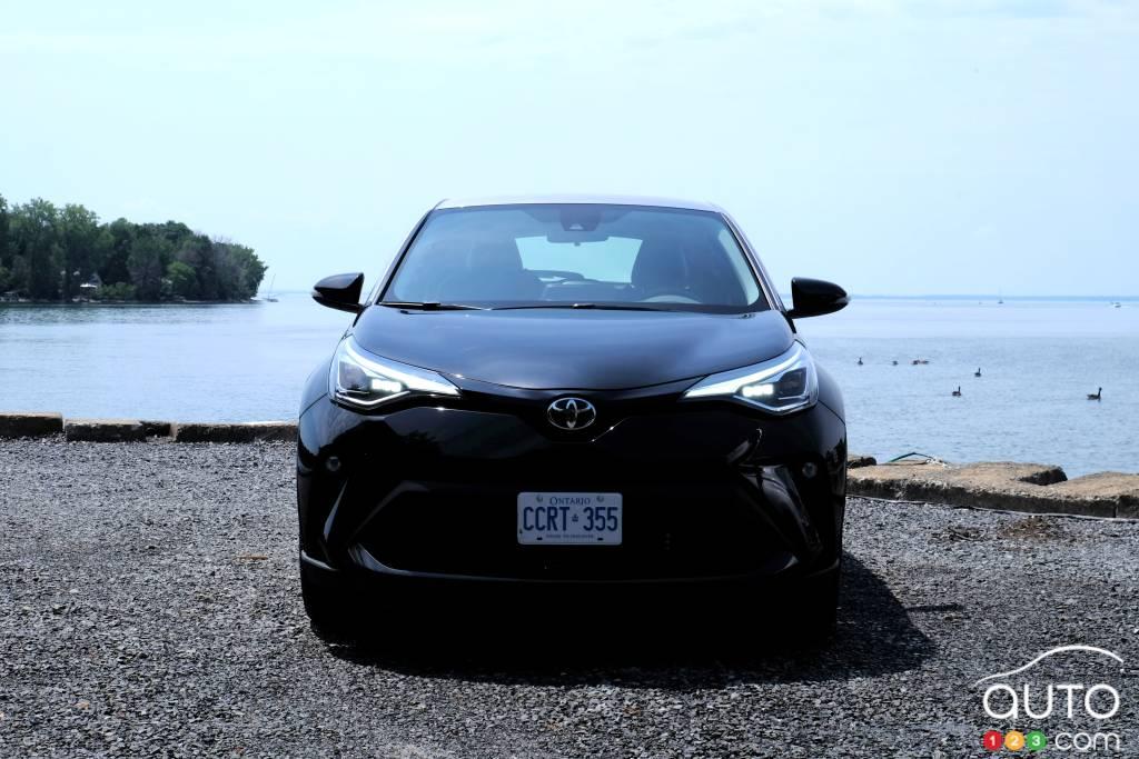 Toyota C-HR 2020, avant
