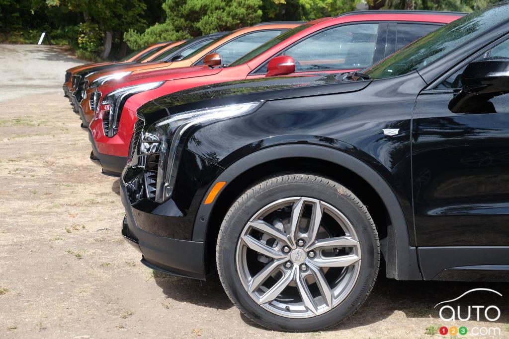 Des Cadillac XT4