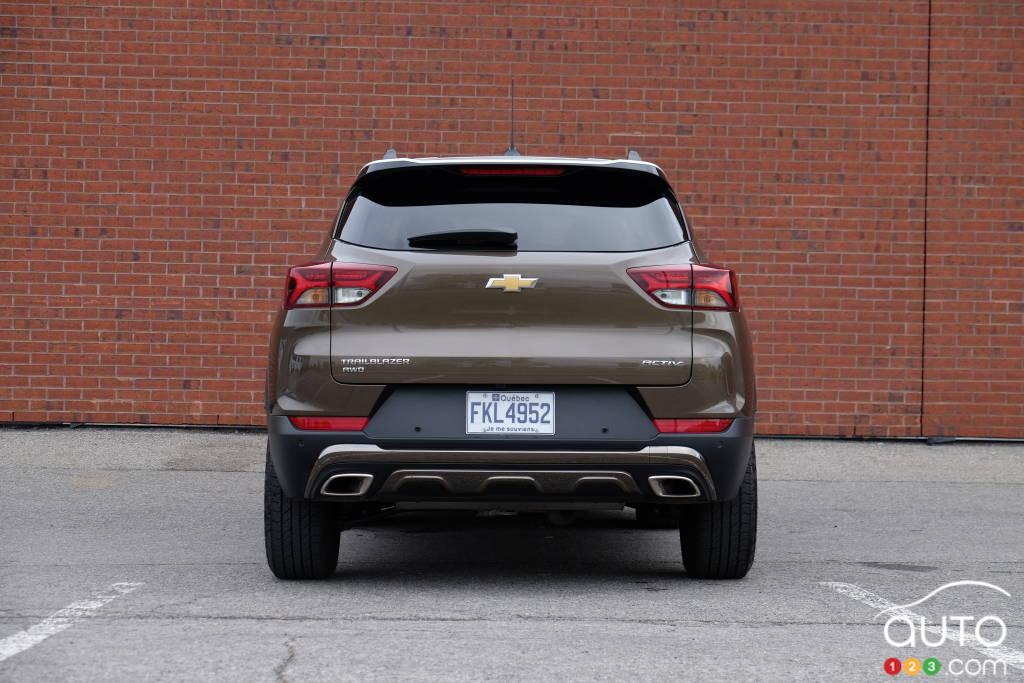 Chevrolet Trailblazer 2021, arrière