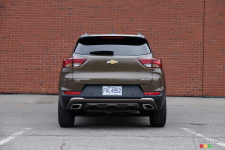 2021 Chevrolet Trailblazer, rear