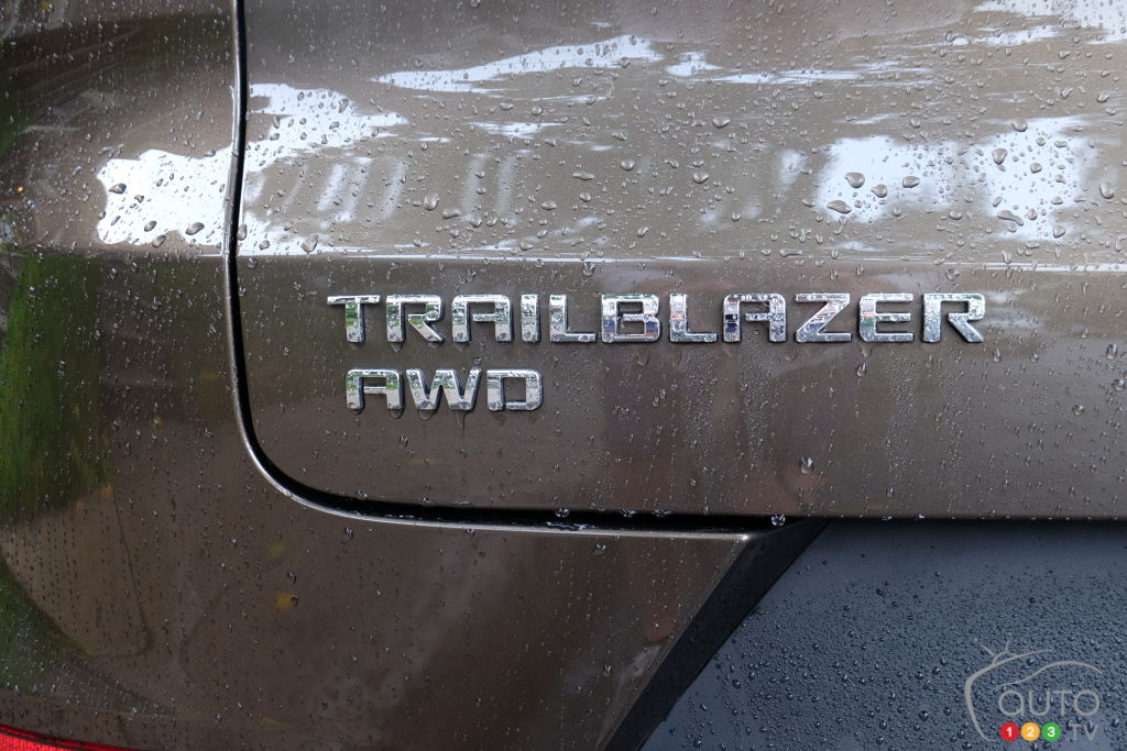 Chevrolet Trailblazer 2021. écusson