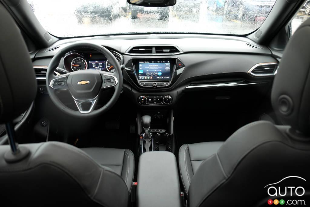 Chevrolet Trailblazer 2021, intérieur