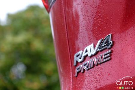 2021 Toyota RAV4 Prime, badge