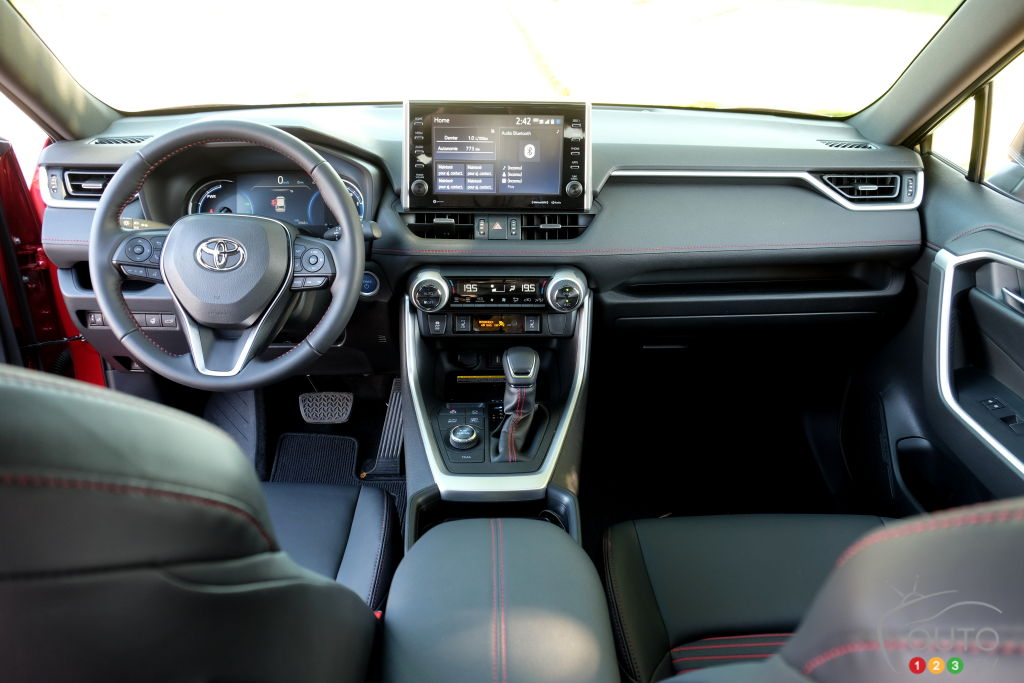 Toyota RAV4 Prime 2021, intérieur