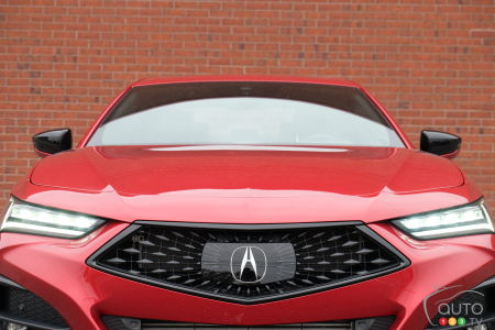 2021 Acura TLX A-Spec, front grille