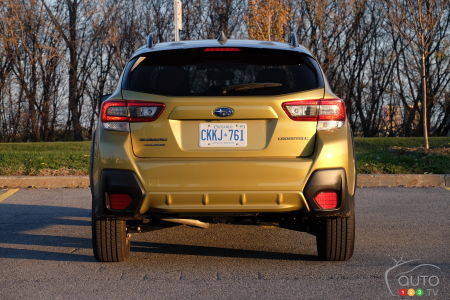 2021 Subaru Crosstrek Outdoor, rear